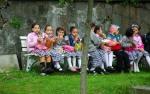 Ayasofya Kilisesi'nin küçük ziyaretcileri