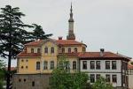 Zağanos Köprüsü yakınlarında eski Trabzon Evleri