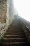 Manastırın 64 basamaklı merdiveni
