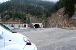 Zigana Tüneli'nin Trabzon yönünden girişi