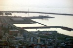Dağmaran'dan Rize Limanı'nın görünüşü
