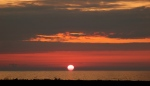 Karadeniz'de günbatımı