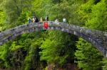 Hoşdere Köyü'deki tarihi taş köprü