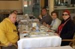Ekip Çayeli Hüsrev'de öğle yemeğinde