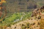 Karaca Mağarası dışındaki manzara