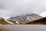 Kop Dağı Zirvesi 5 dakika sonra bulutlarla kaplandı.
