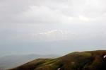 Kop Geçidinden Doğu Karadeniz Dağlarının görünüşü