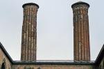 Çifte Minareli Medrese minareleri