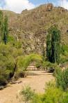 Pehlivanlı Köyü yakınlarında asma köprü