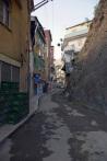 Yusufeli'ndeki arka sokaklardan görünüş