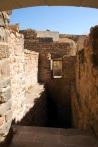 İshakpaşa Sarayı muhafız odaları ve kazan dairesi inişi