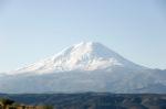Ağrı Dağı. Meteor Çukuru'ndan görünüşü
