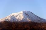 Ayri Dağı akşam güneşinde