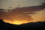 Doğubeyazıt'da günbatımı