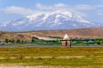 Erciş Çelebibağı'nda Türbe ve Süphan Dağı