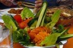 Salata süsleme sanatı