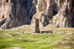 Eski Van Ulu Cami'den sadece minaresi kalmış.