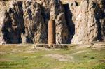 Eski Van Şehri Kızıl Cami'den de sadece minasresinin bir kısmı kalmış.
