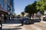 Van Caddeleri sabah 07.30 da oldukça tenhaydı.