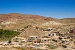 Hoşap Kalesi Dış Kale içindeki köy evleri