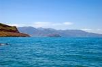 Akdamar Adası'nın dinlenme tesislerinden görünüşü