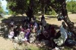 Akdamar Adası piknikçileri