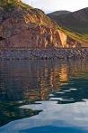 Akdamar Adası dönüş yolunda Van Gölü ve kıyıları