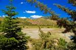 Hazar Gölü etrafındaki yazlıklar