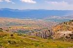 Harput Kalesi'nden Elazığ'ın görünüşü