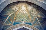 Ulu Cami'deki çini işlemleri