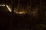 Aslantepe. M.Ö.3300 den gelen sarayın içi. Üstü kış nedeniyle kapatılmış halde.